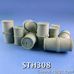 STH308 TOXIC WASTE DRUMS 12 OF 3 STYLES