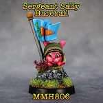 MMH806 SERGEANT SALLY HAREBALL