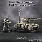 STB601 REMOTE OPERATOR AND BUZZSAW DRONE