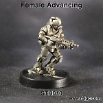 STH010 FEMALE ADVANCING