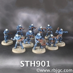 STH901 FULL SQUAD OF 10 H.E.A.T. TROOPERS