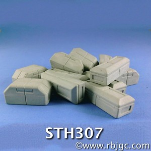 STH307 STARLINER FREIGHT BOXES 12 RANDOM OF 2 STYLES