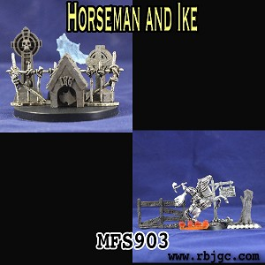 MFS903 HORSEMAN AND IKE