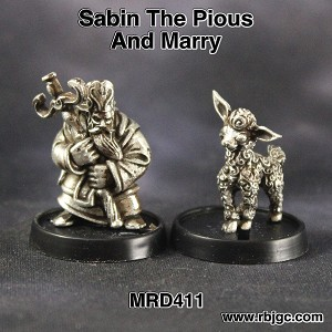 MRD411 SABIN THE PIOUS AND MARRY