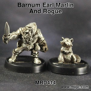 MRD414 BARNUM EARL MARLIN AND ROGUE