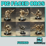 FOU900 PIG FACED ORCS