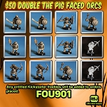 FOU901 DOUBLE THE ORCS