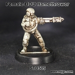 STB505 FEMALE FLAMETHROWER