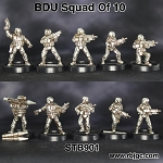STB901 FULL SQUAD OF 10 BDU TROOPERS