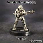 STH503 FEMALE FLAMETHROWER